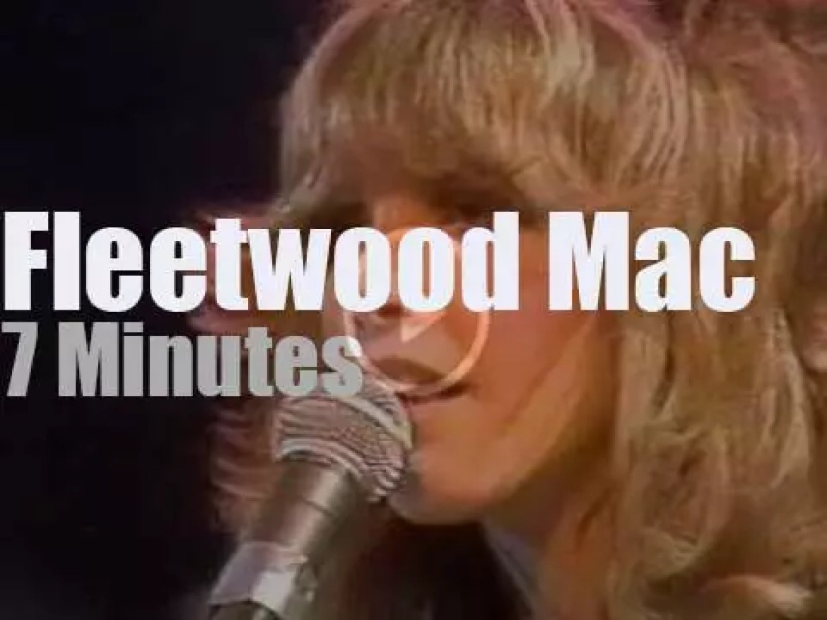 On TV today, Fleetwood Mac at 'Midnight Special'  (1976)