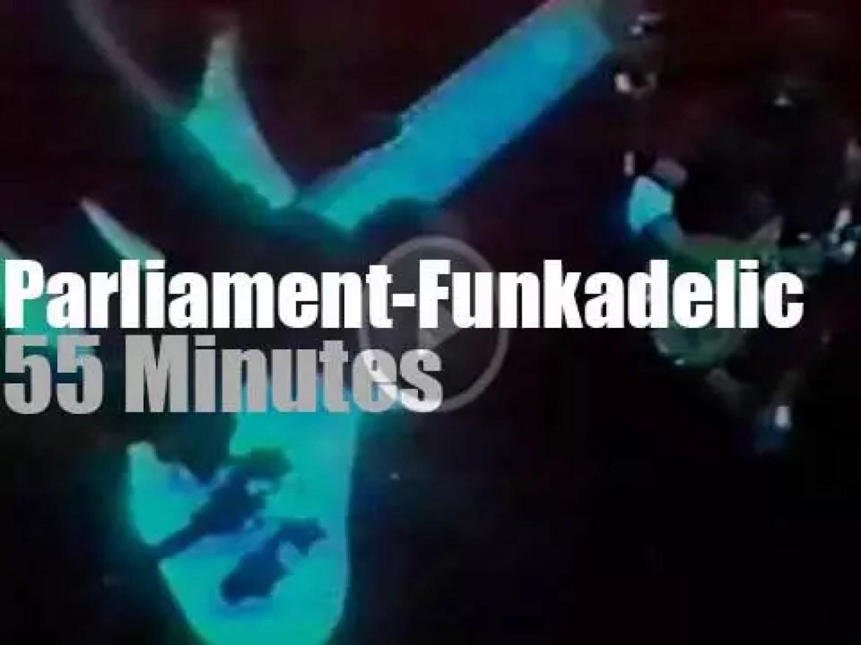 Parliament-Funkadelic lands in Houston, Texas (1978)