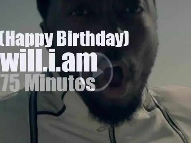 Happy Birthday will.i.am