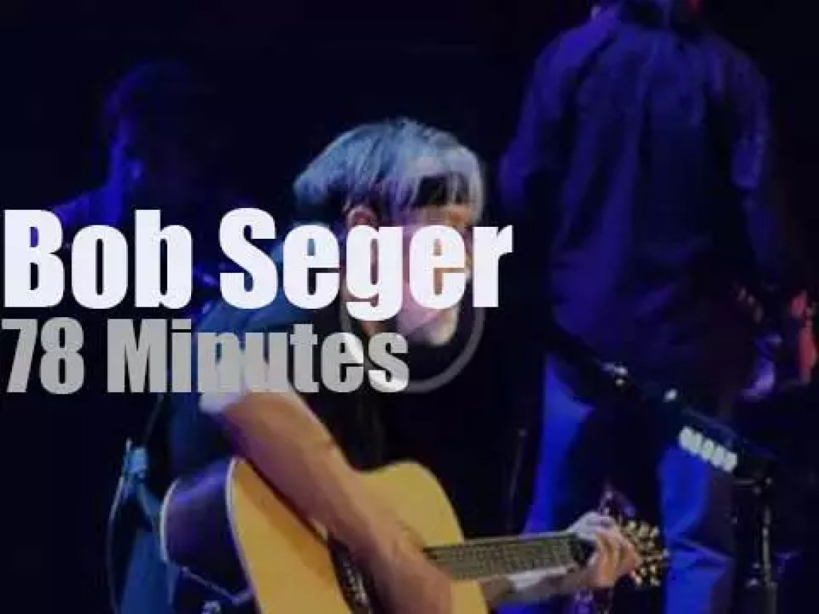 Bob Seger takes the Silver Bullet Band to Reading (2013)