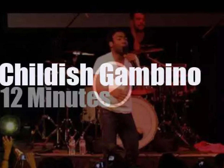 Childish Gambino visits Atlanta (2011)