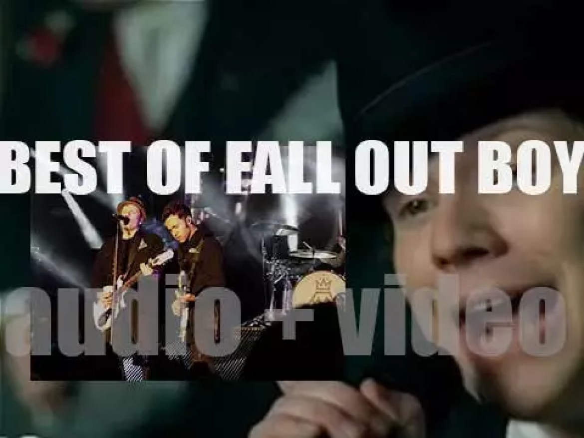 Happy Birthday to Patrick Stump. Time for a 'Fall Out Boy At Their Best'
