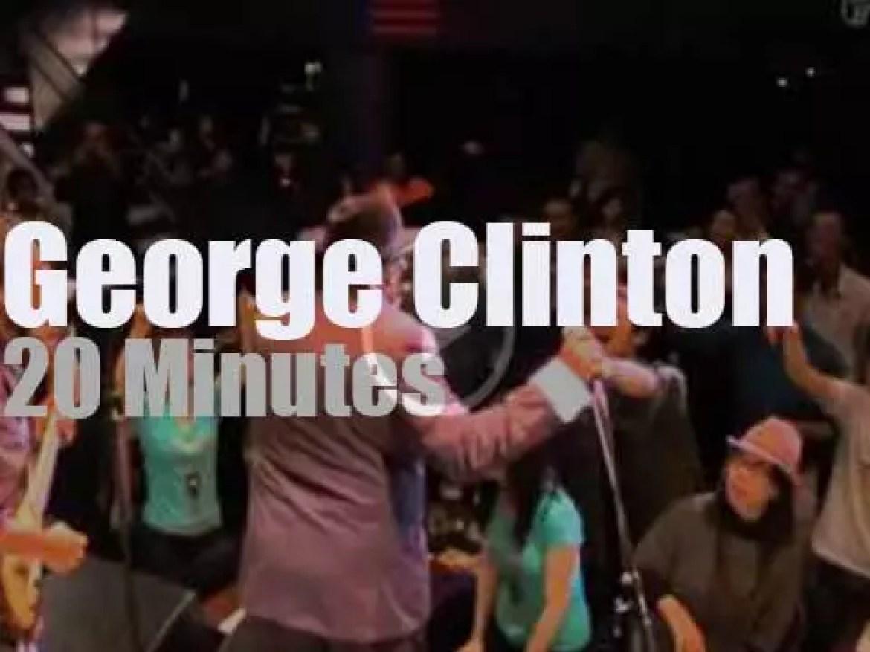 George Clinton & P-Funk visit Tokyo (2013)