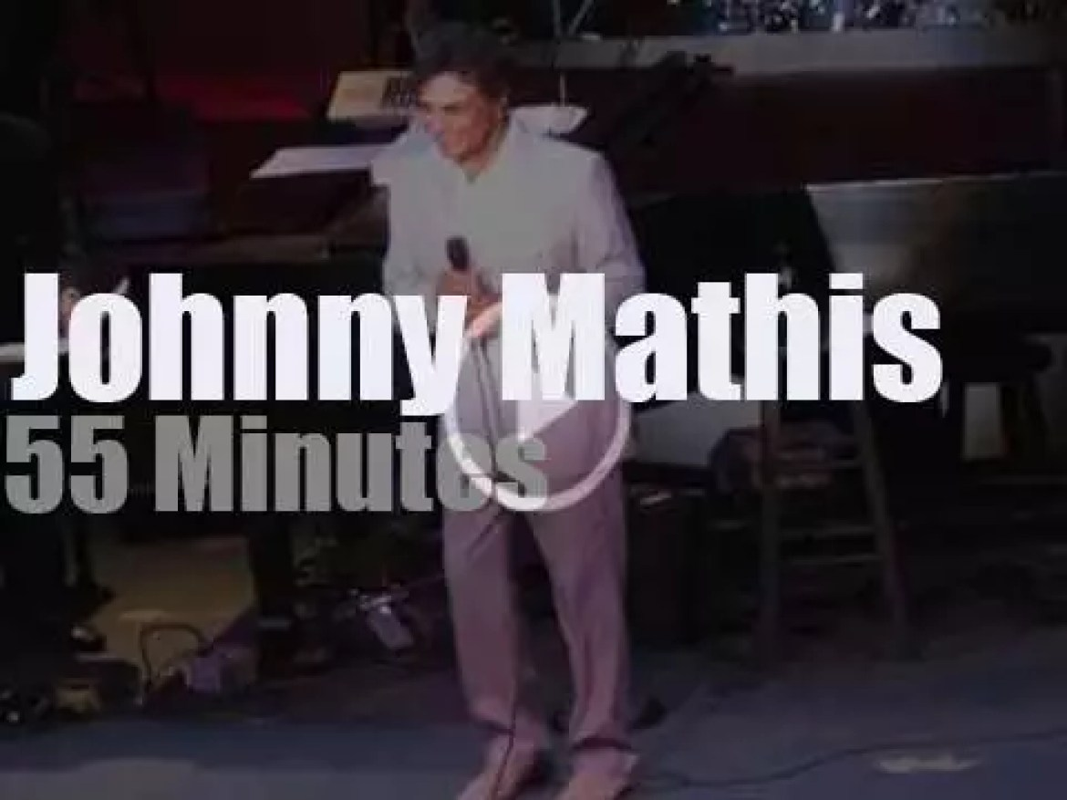 Johnny Mathis sings in New-Jersey (2013)