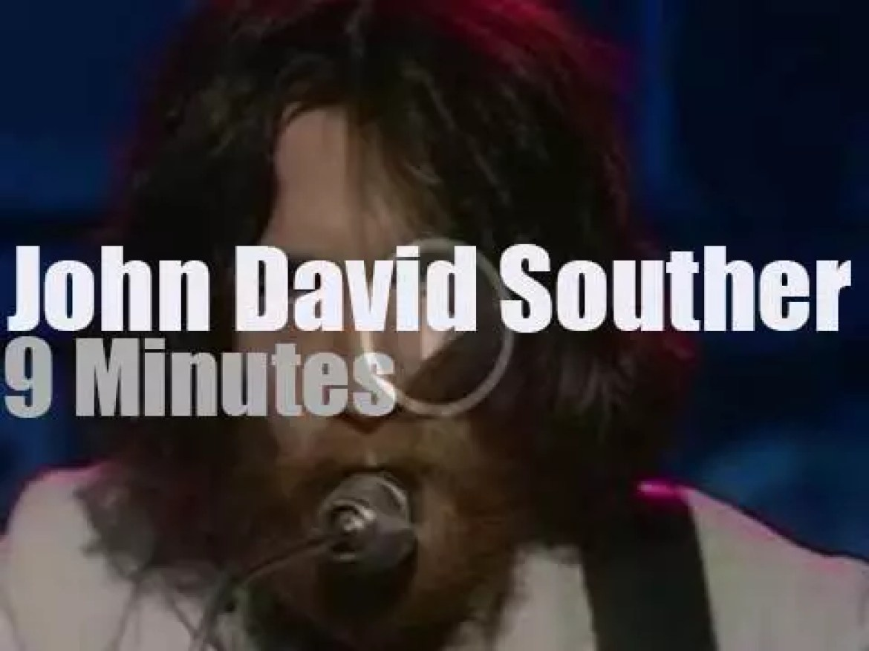 On English TV, John David Souther at 'OGWT' (1973)