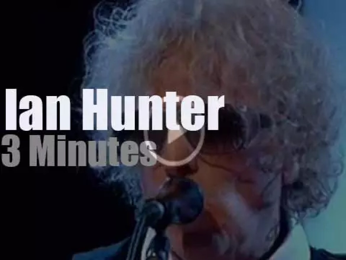 On English TV today, Ian Hunter at 'Later with Jools Holland' (2010)