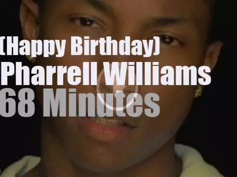 Happy Birthday Pharrell Williams