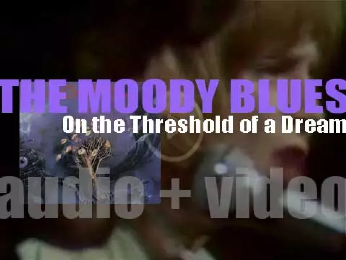 The Moody Blues release 'On the Threshold of a Dream,' their fourth album (1969)