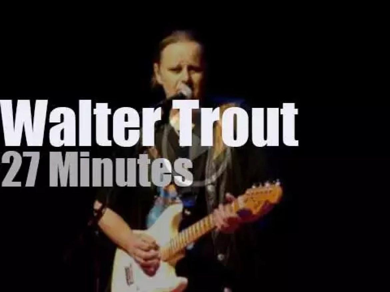 Walter Trout  kills it in New Jersey (2010)