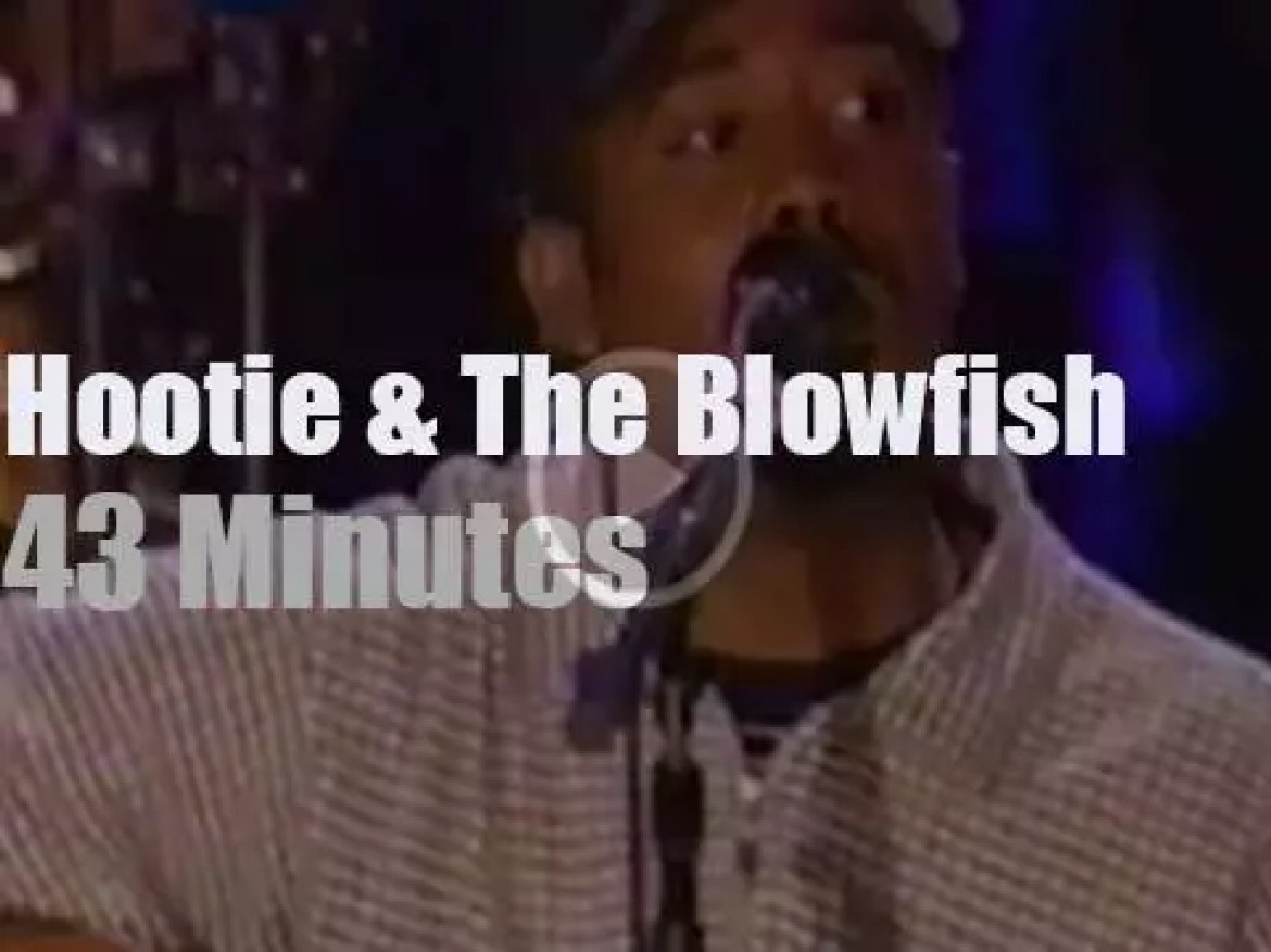 On TV today, Hootie and the Blowfish 'Unplugged' on MTV (1996)
