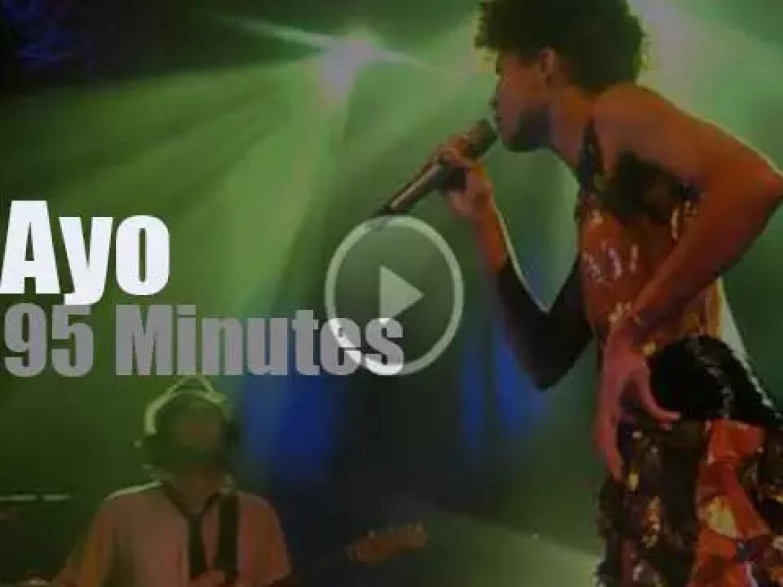 Ayo sings in Paris (2011)