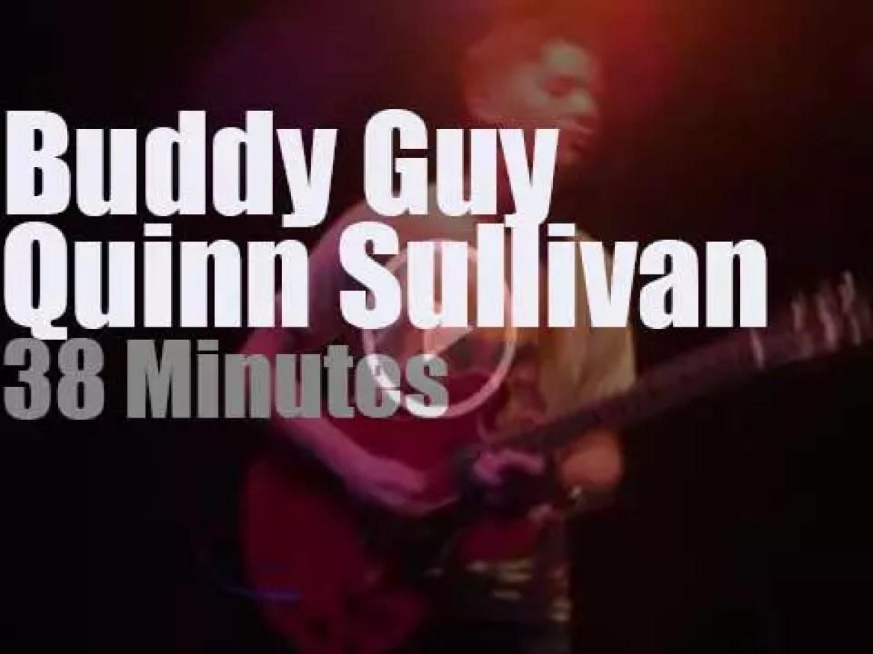 Buddy Guy takes Quinn Sullivan to Annapolis (2015)