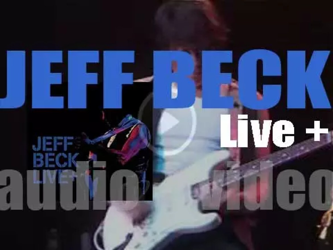 Jeff Beck releases 'Live +' an album revisiting his catalog (2015)