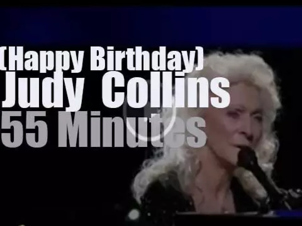 Happy Birthday Judy Collins