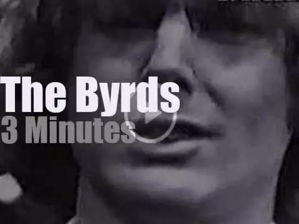 On TV today, The Byrds at 'Shivaree' (1965)