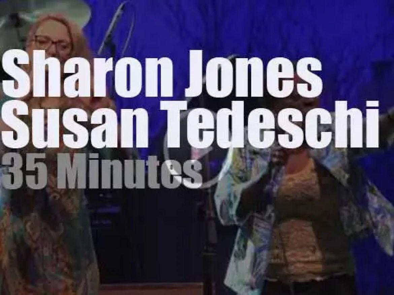 Sharon Jones sits in with Tedeschi  & Trucks  (2015)