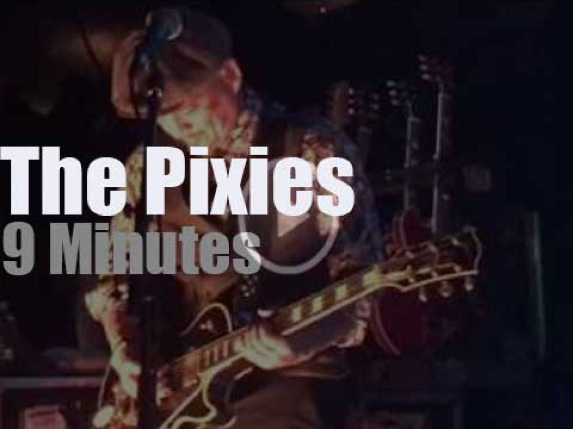 The Pixies are in Boston (2017)