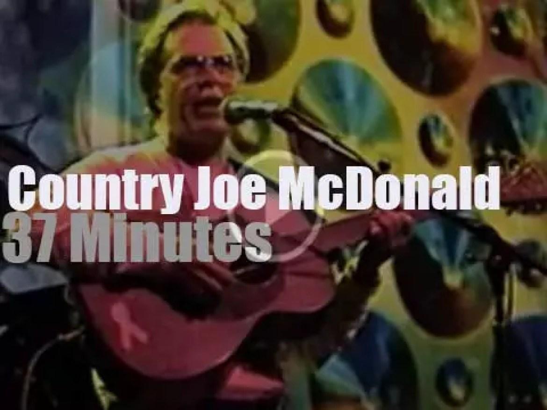 Country Joe McDonald plays at Fillmore  (1998)
