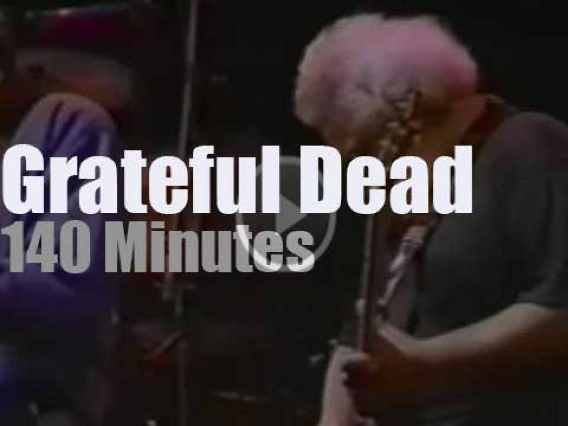 Grateful Dead come back to New-Jersey (1992)
