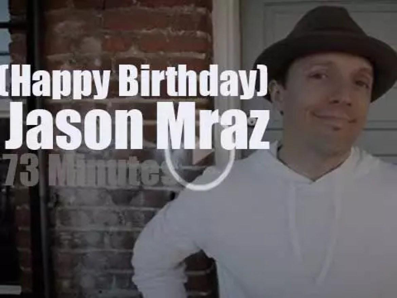 Happy Birthday Jason Mraz