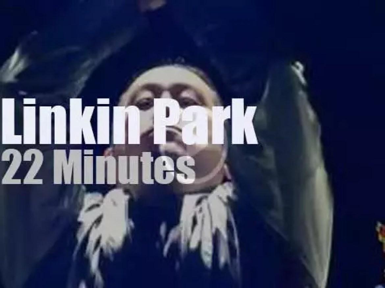 Linkin Park attend a rock festival in Germany  (2014)