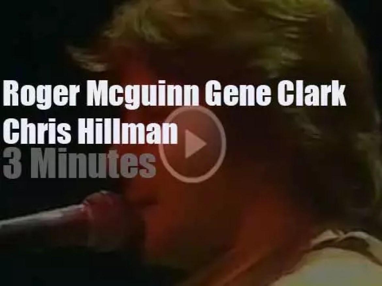 Mcguinn-Clark & Hillman meet in Australia (1978)