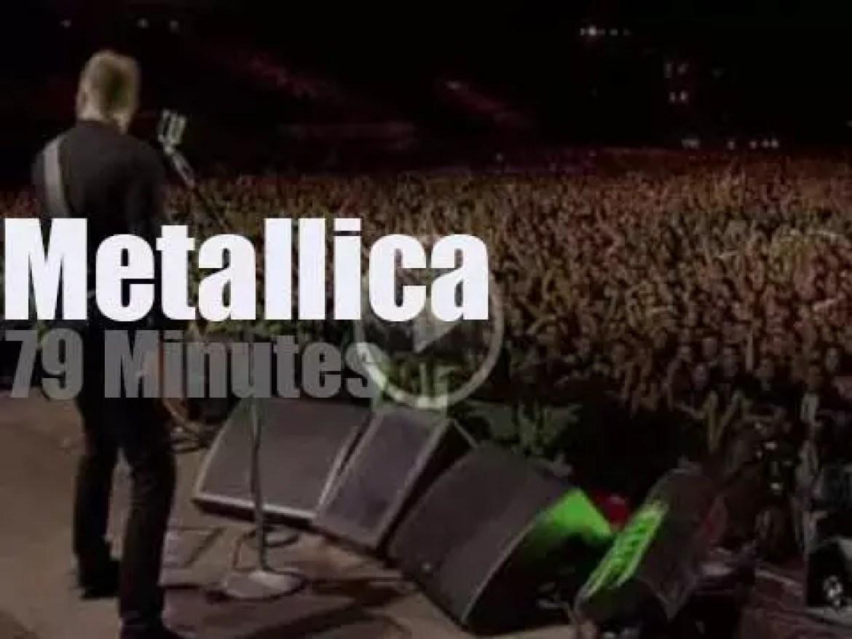 Metallica serenade Sofia (2010)