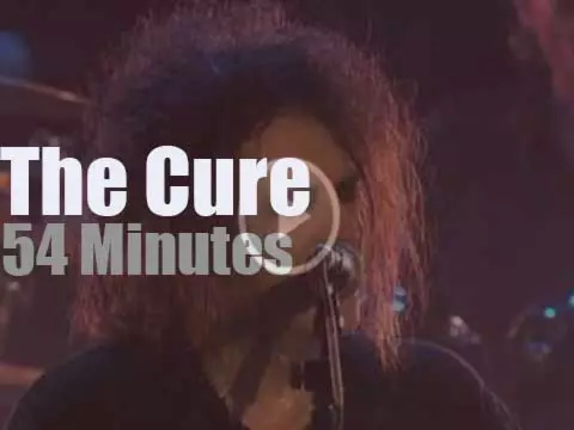 The Cure rock Charlotte (2008)