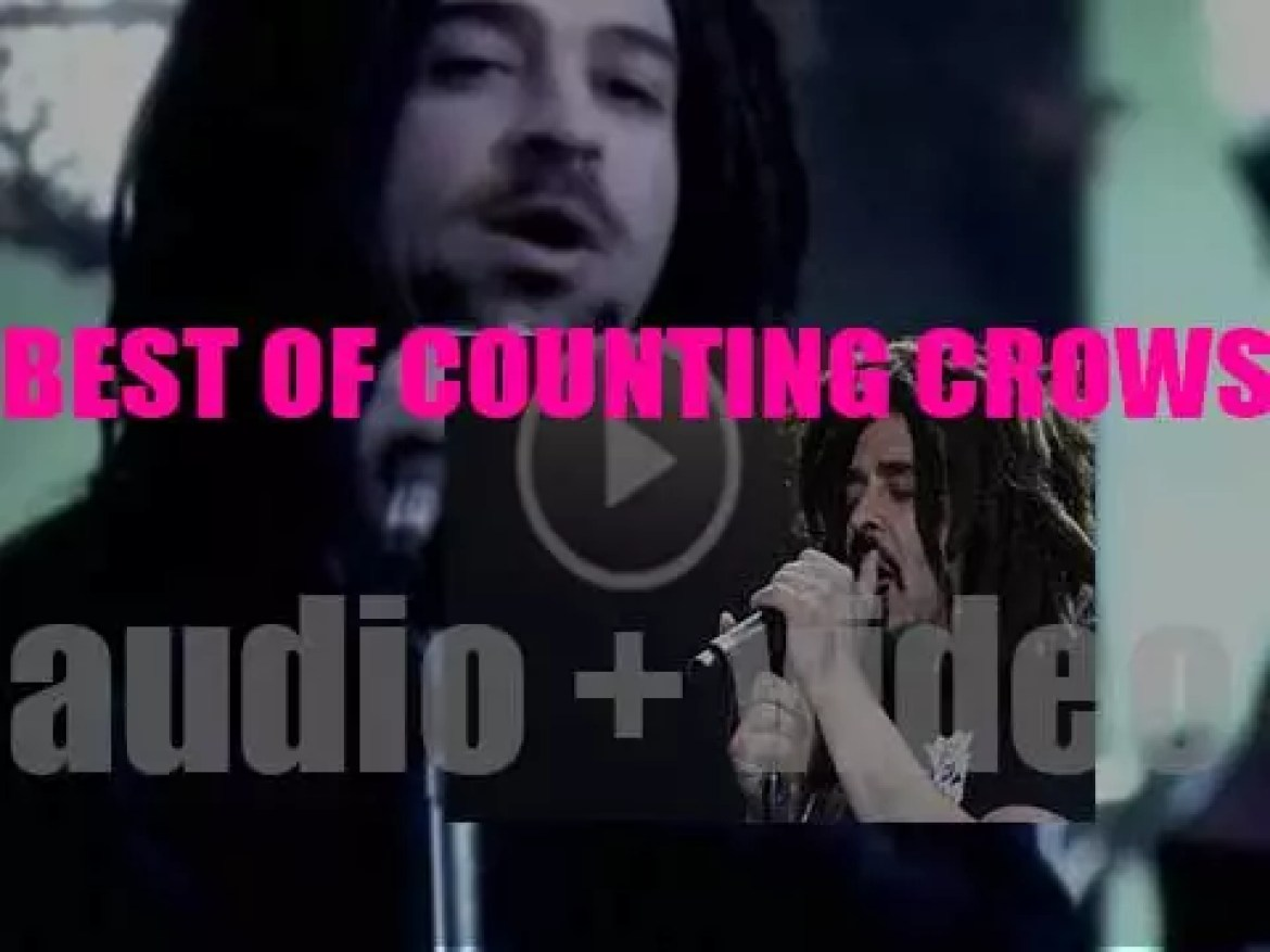 As we wish Adam Duritz a Happy Birthday, we have a closer look at his band 'Counting Crows At Their Best'