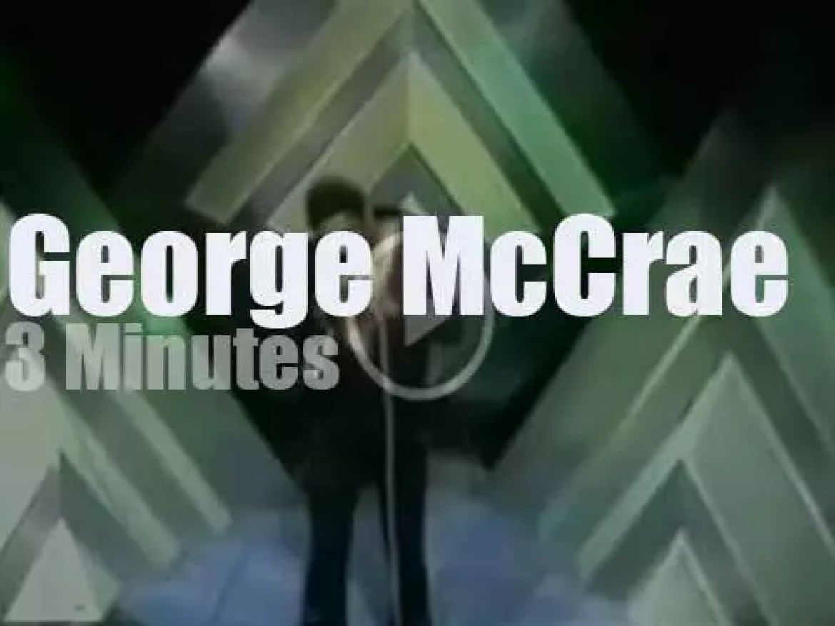 On English TV, George McCrae at TOTP (1974)|
