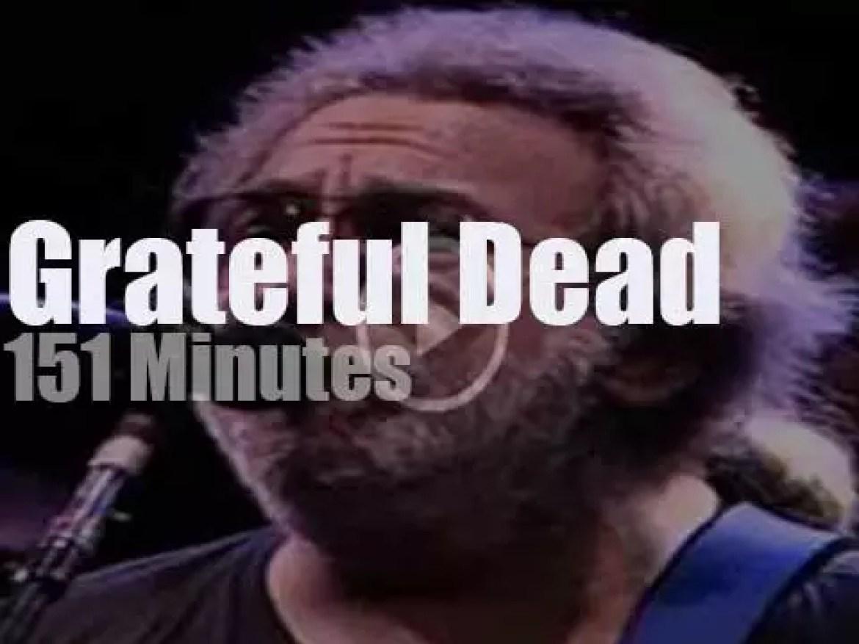 Grateful Dead go downhill in Alpine Valley (1989)