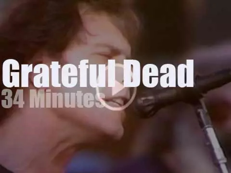 Grateful Dead travel to Anaheim (1987)