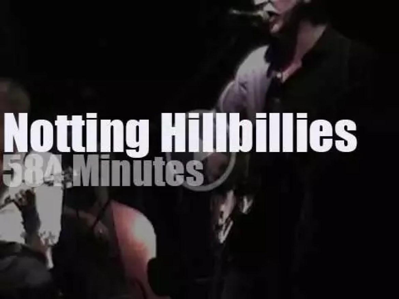 Notting Hillbillies jam in London (1999)