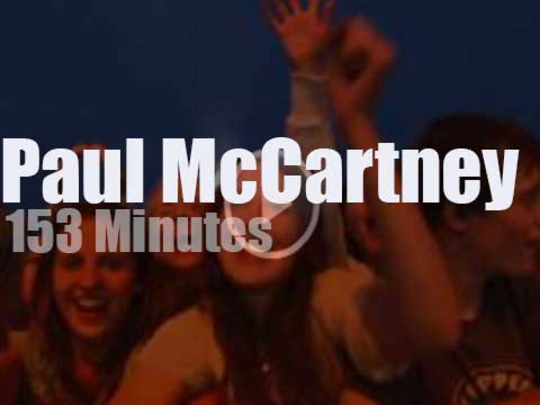 Paul McCartney visits Halifax (2009)
