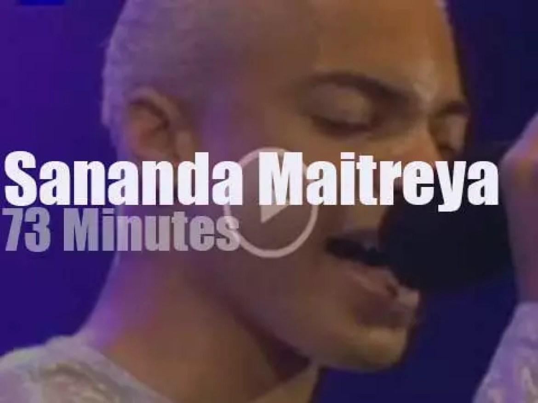 Terence Trent is back in London as Sananda Maitreya (1995)