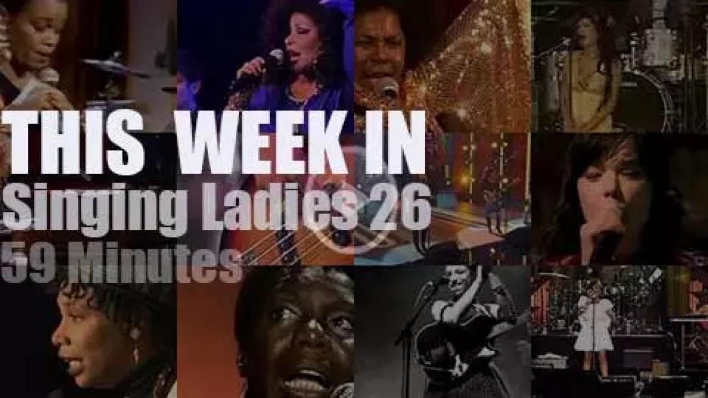 This week In Singing Ladies 26
