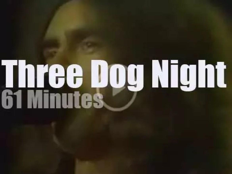 Three Dog Night visit New-York State (1970)