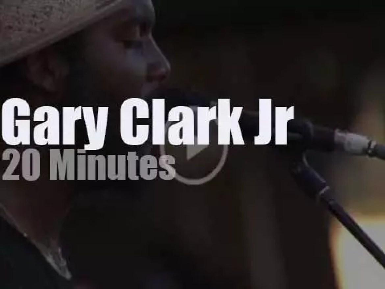 Gary Clark Jr attends a festival in Virginia  (2016)