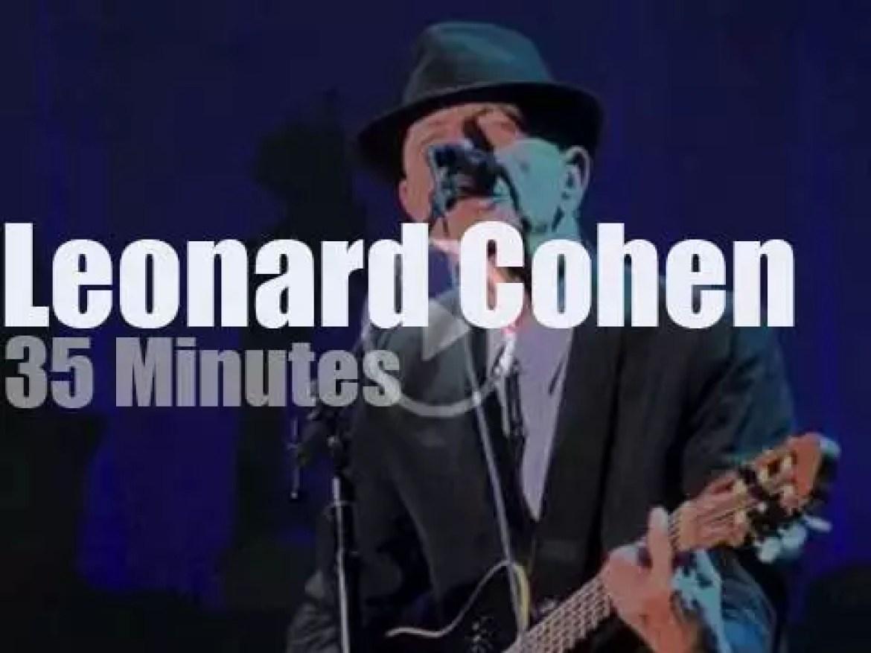 Leonard Cohen visits Zurich (2013)