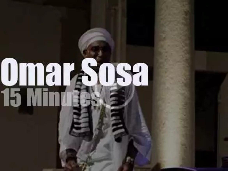 Omar Sosa plays in Ramatuelle (2014)