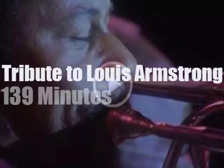 Wynton, Bucky, Doc et al salute Louis Armstrong in Newport (1990)