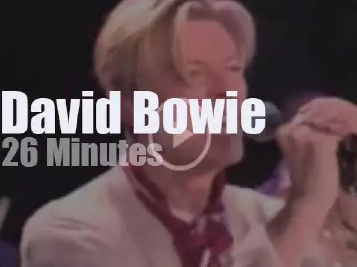 AOL tapes David Bowie (2003)