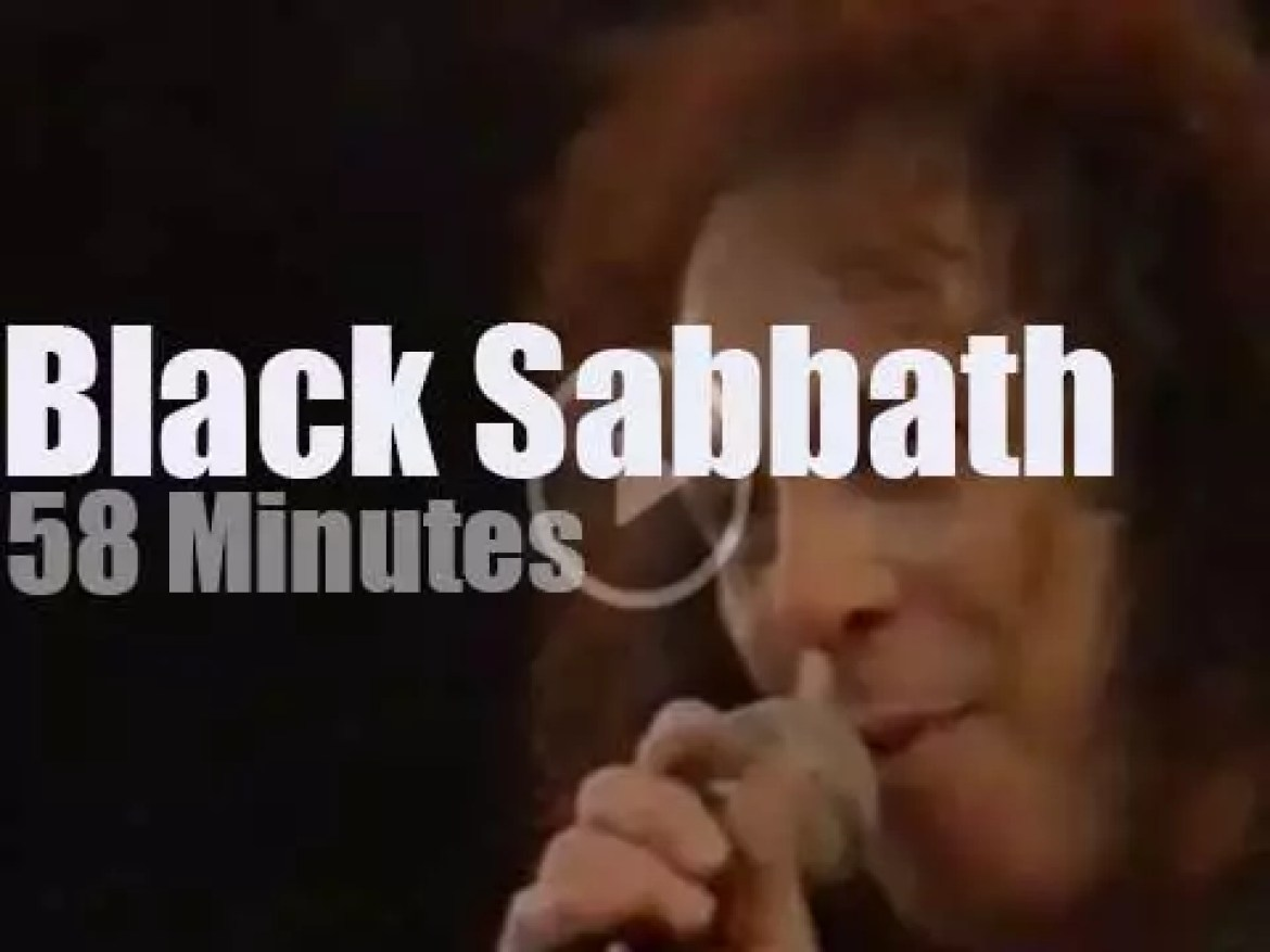 Black Sabbath are 'Monsters' in Italy (1992)