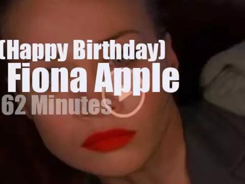Happy Birthday  Fiona Apple