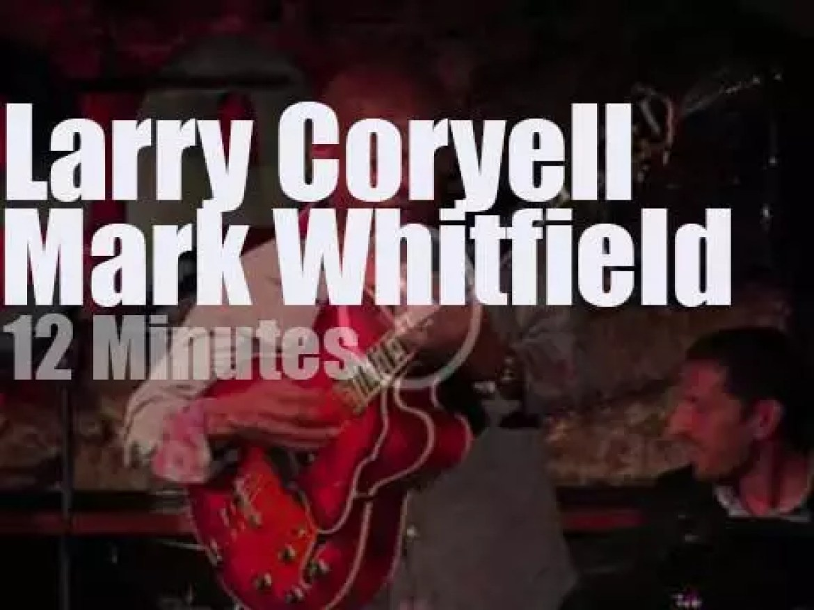 Larry Coryell meets Mark Whitfield in Barcelona (2013)