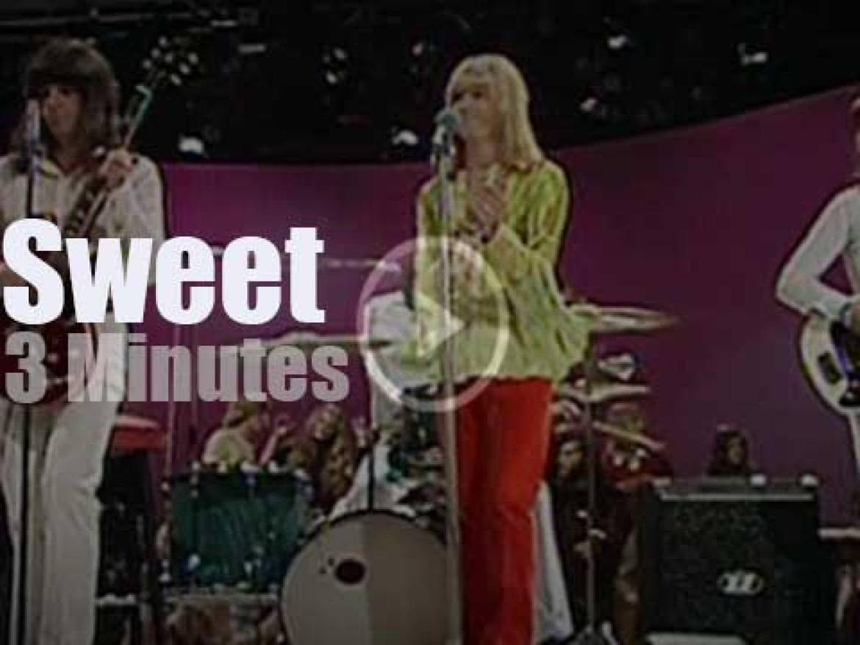 On German TV, Sweet at 'Disco' (1971)