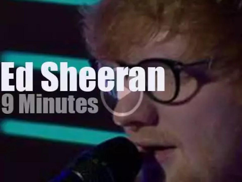 On TV today, Ed Sheeran  at 'GMA' (2017)