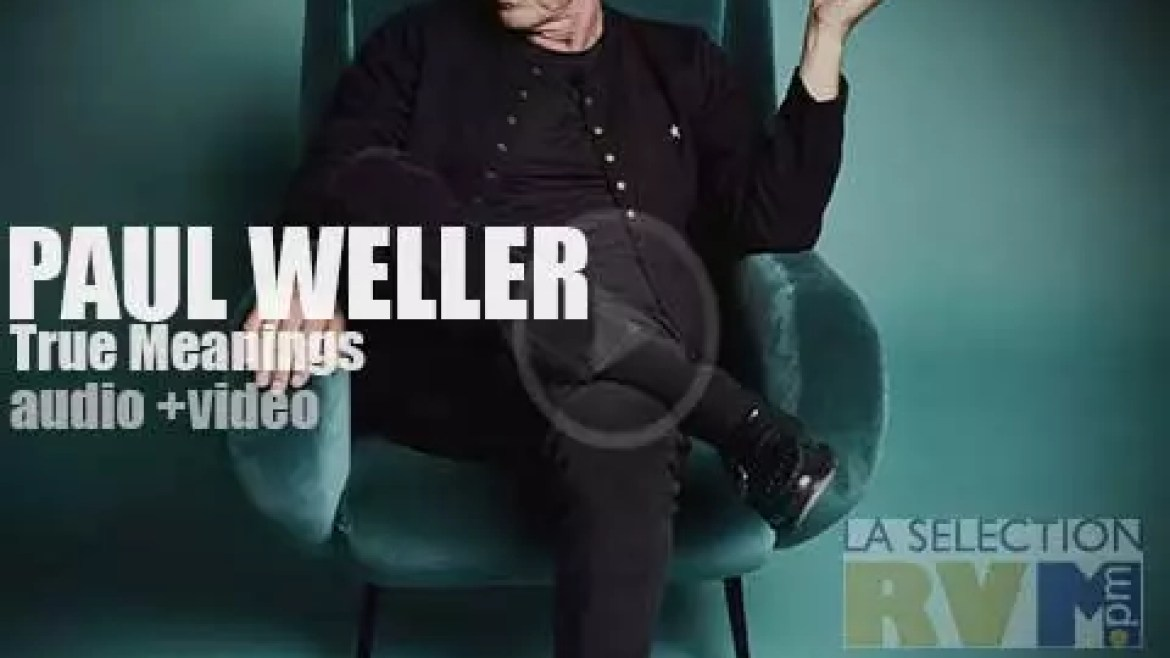 Paul Weller has put a lot of acoustic guitars, strings and ballads in his mod music. 'That's all folk…music!'