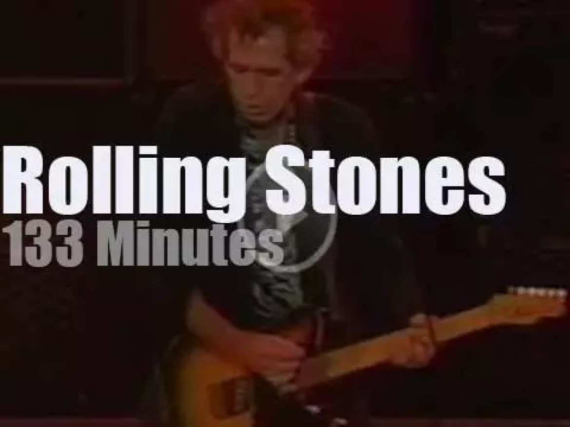 The Rolling Stones rock Chicago (1997)
