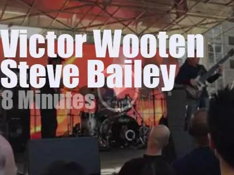 Victor Wooten meets Steve Bailey (2015)
